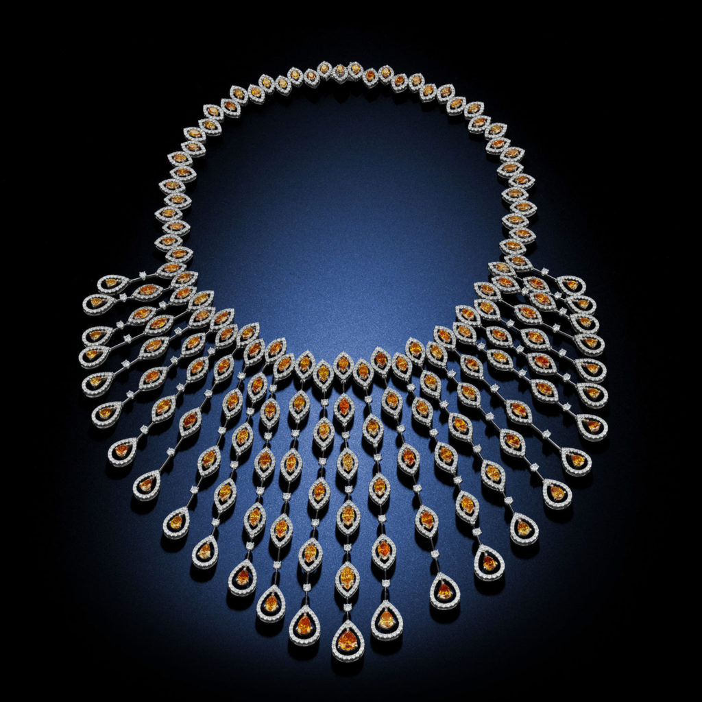 product diamond suisse necklace de kaufmann fancy