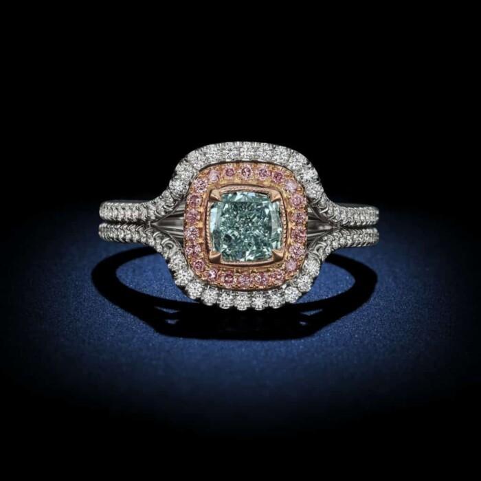 natural-fancy-green-cushion-cut-diamond-engagement-ring