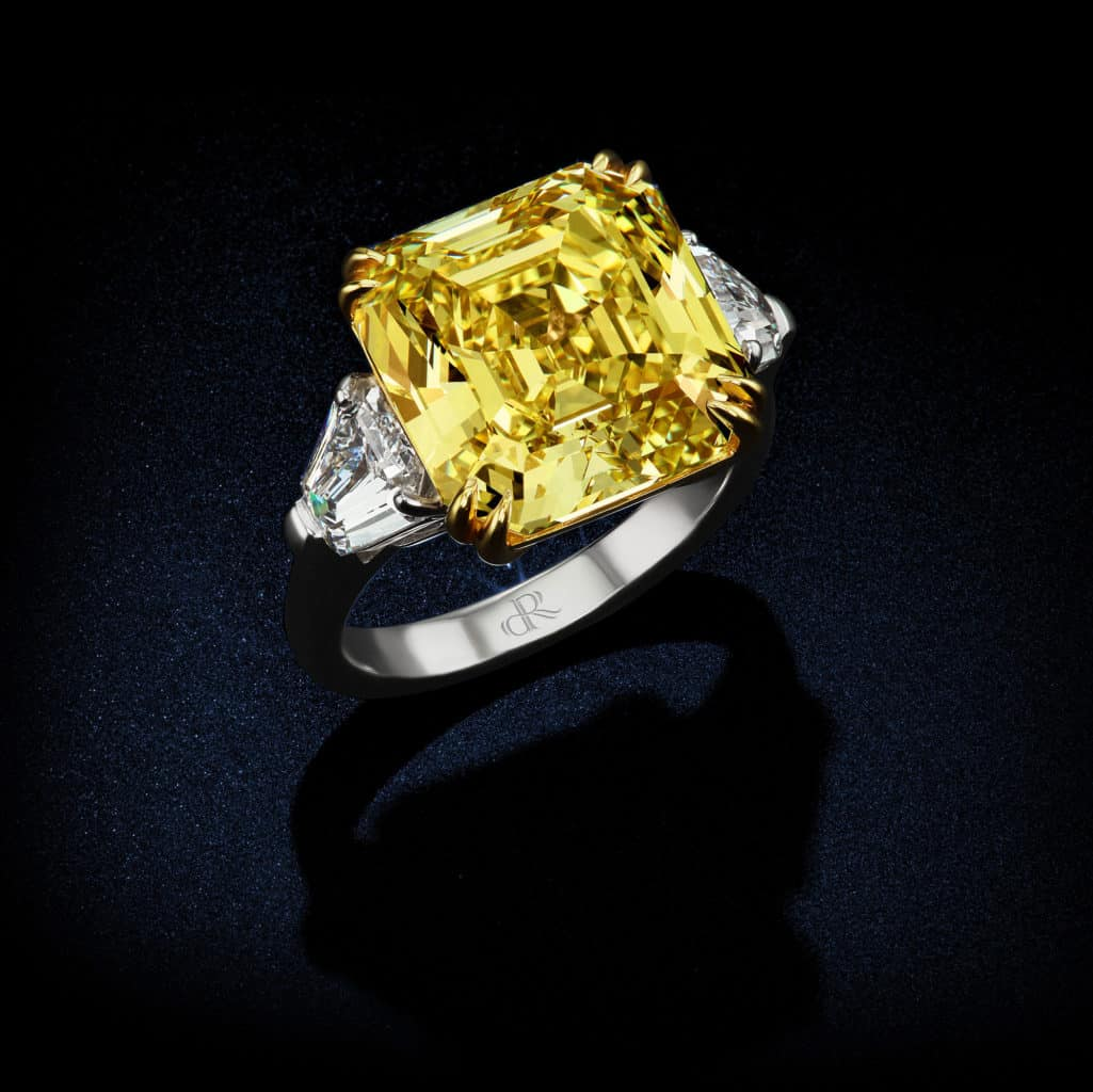 large-natural-fancy-vivid-yellow-diamond-asscher-cut-diamond-ring