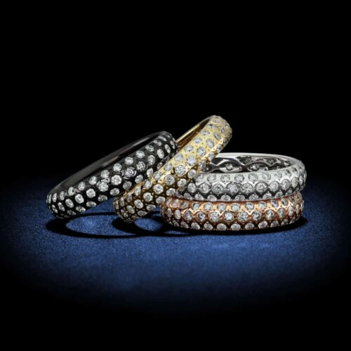 multi-color-18kt-gold-diamond-eternity-bands